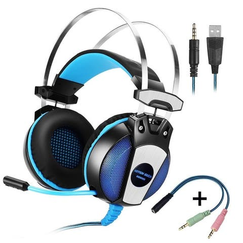 Each GS500 3.5mm Stereo Bass Headset for PS4 PC Computer Laptop Mobile Phones Gift