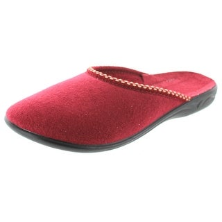 Sc Home Collection Womens Closed Toe Velour Slippers