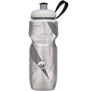 Polar Bottle Sport Insulated 20 oz Water Bottle - Black Pattern