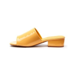 Coconuts Womens Plantain Open Toe Casual Slide Sandals