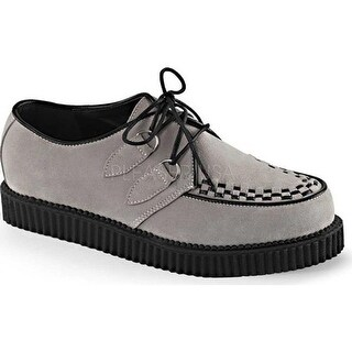 Demonia Men's Creeper 602S Grey Suede