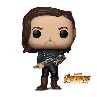 Funko POP! Marvel: Avengers Infinity War - Bucky Barnes with Weapon -