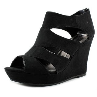 Rampage Canise Open Toe Synthetic Wedge Sandal