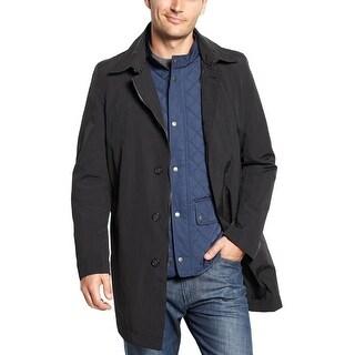 Nautica Camo Black 3 in 1 Rain Gear Coat 46 Regular 46R Waterproof Raincoat