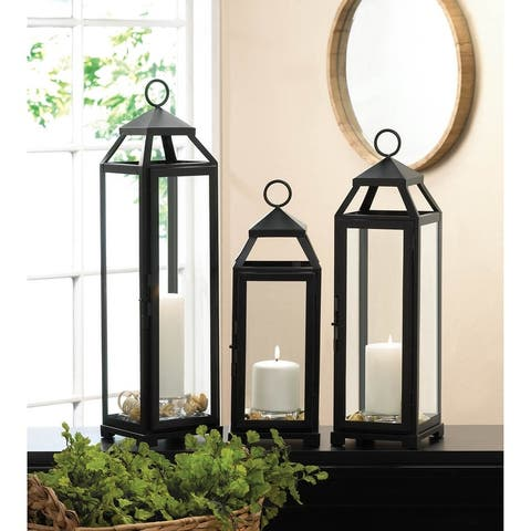 Lean & Sleek Candle Lanterns