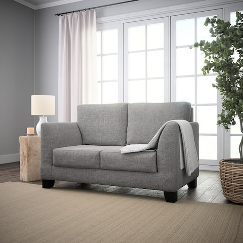 "Brookside Holly 61"" Upholstered Flared Arm Loveseat"
