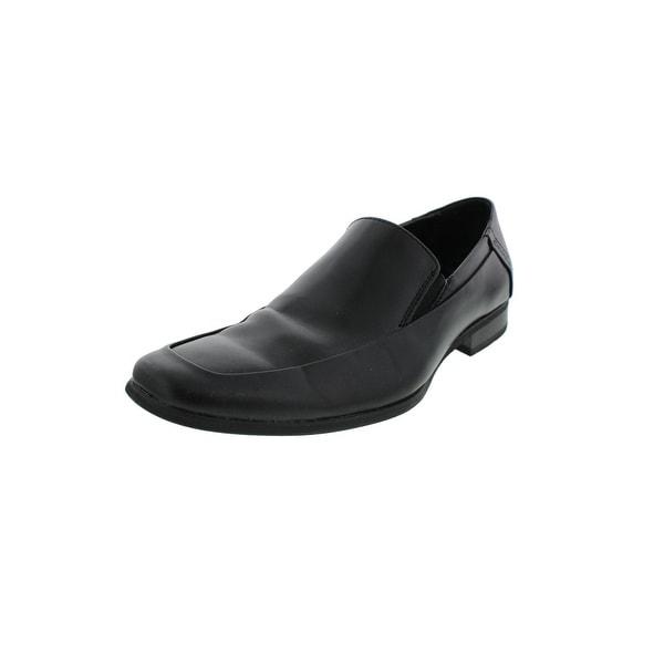 Calvin Klein Mens Brad Loafers Slip On Solid - 15 wide (e)