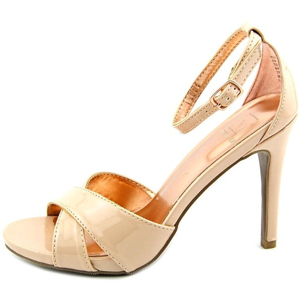 Material Girl Womens Msara Open Toe Ankle Strap Classic Pumps - 8.5