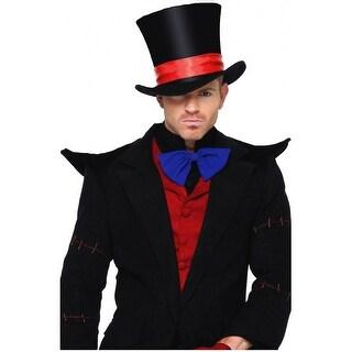 Deluxe Velvet Top Hat Adult Costume Accessory