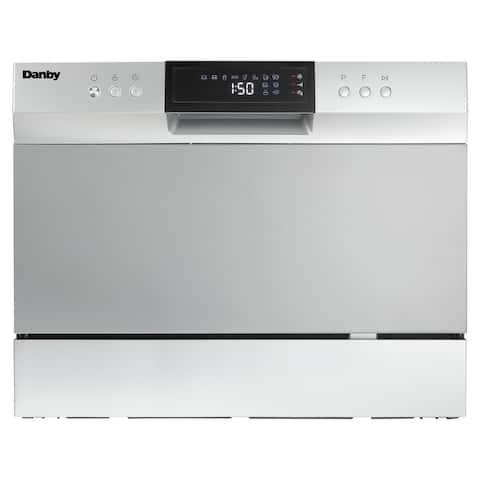 Danby 6 Place Setting Countertop Dishwasher DDW631SDB