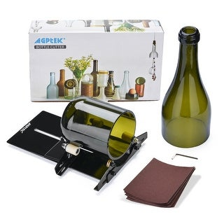 AGPtek Glass Bottle Cutter Machine Cutting Tool - SIZE
