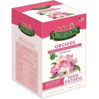 Easy Gardener 08235 Jobe's Organics Orchids Water-Soluble Plant Food, 5 Oz