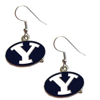 BYU Brigham Young Cougars Dangle Logo Earring Set NCAA Charm Gift
