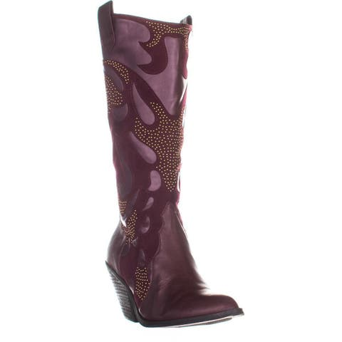 0f074dee551 Buy Purple Carlos by Carlos Santana Women's Boots Online at ...