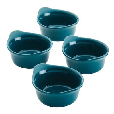 Rachael Ray Ceramics Round Ramekin Dipper Cup Set, 4pc