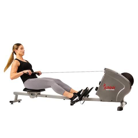 Sunny Health & Fitness Flywheel Rowing Machine