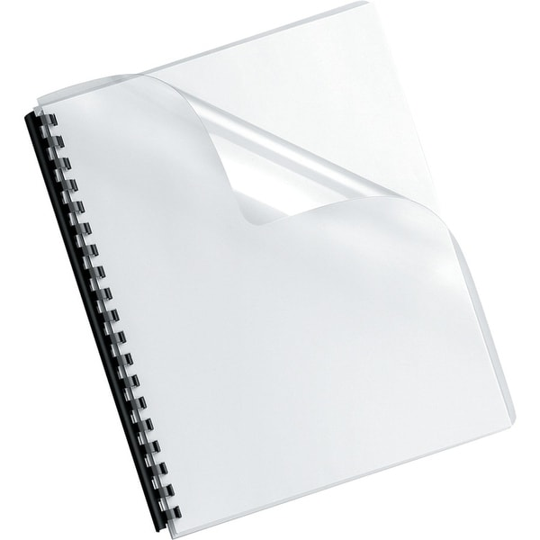 Fellowes, Inc. - Binding Covers Crystals Clear Oversize 1
