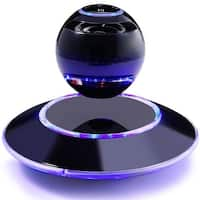 TechComm WB-46 Magnetic Levitating Bluetooth Wireless Speaker with LED Lights and 3D Audio Sound for Music and Hands-Free Calls
