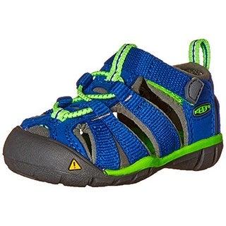 Keen Boys Seacamp II CNX Toddler Colorblock Sport Sandals - 4 medium (d)