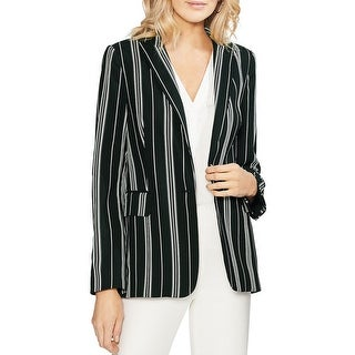 Link to Vince Camuto Womens One-Button Blazer Office Wear Professional - Rich Black Similar Items in Suits & Suit Separates