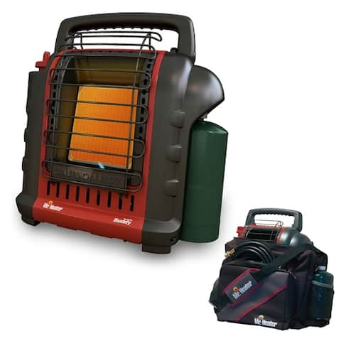 Mr. Heater MH9BX Portable Buddy Heater with Portable Buddy Carry Bag
