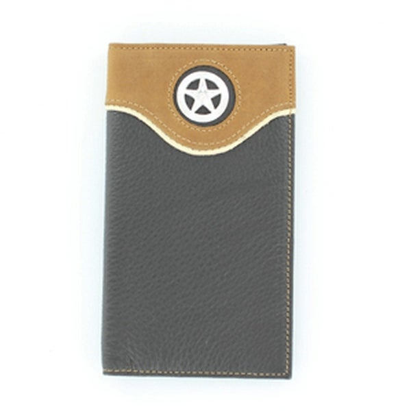 Nocona Western Wallet Classic Mens Fun Rodeo Star Concho - One size