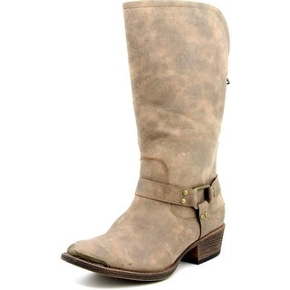 Coconuts By Matisse Appaloosa Round Toe Canvas Mid Calf Boot
