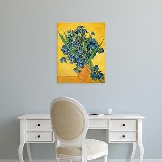 Easy Art Prints Vincent Van Gogh's 'Irises, 1890' Premium Canvas Art