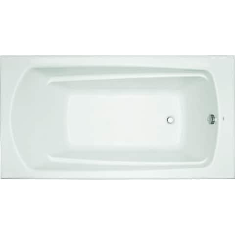 "Mirabelle MIRBDS6032 Bradenton 60"" X 32"" Drop-In Soaking Tub with Reversible Drain"