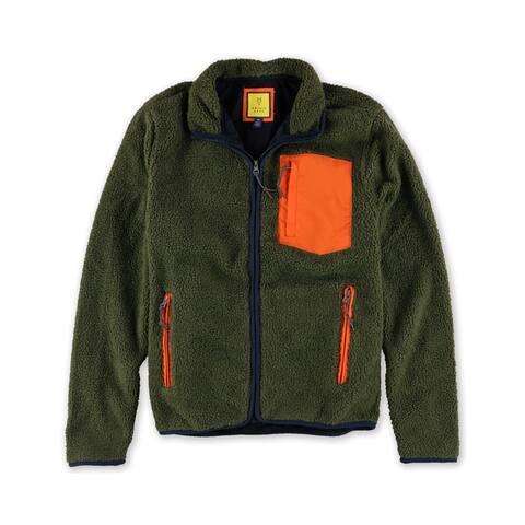 Aeropostale Mens Sherpa Fz Fleece Jacket