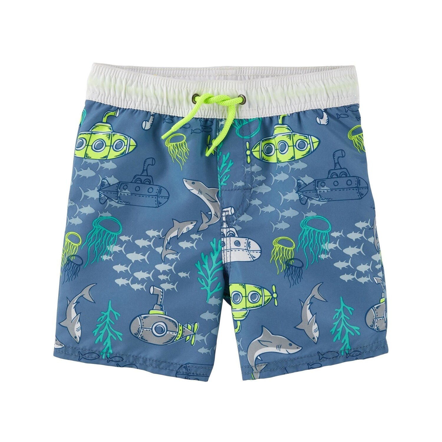 OshKosh BGosh Baby Boys Creatures Swim Trunks