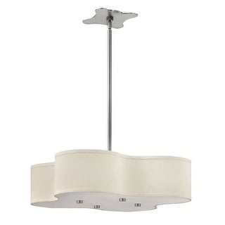 Hinkley Lighting 3805-LED 1 Light LED Large Foyer Pendant from the Cirrus Collection