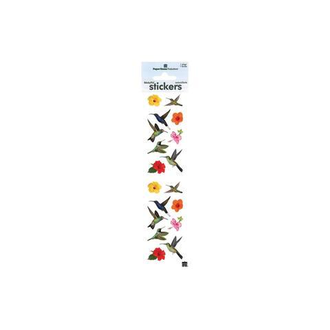 St-2253e paper house sticker humming birds
