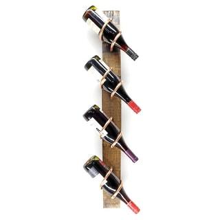 Handmade Whiskey Stave Wine Rack (USA)