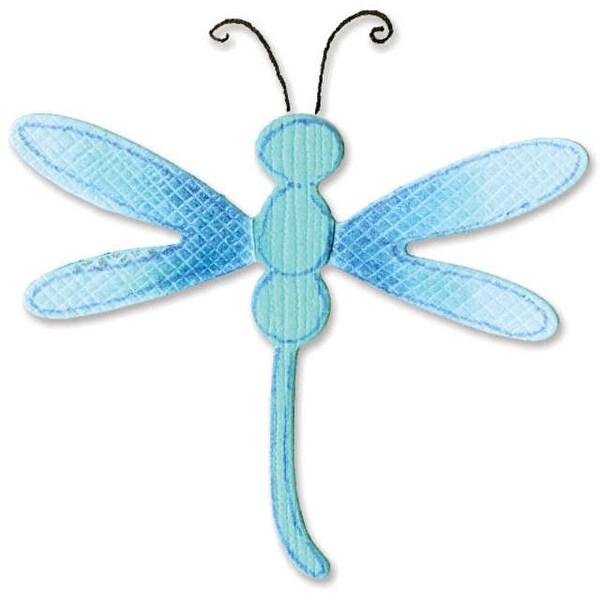 """Sizzix Sizzlits Die 2.375""""X2.625""""-Dragonfly #3"""