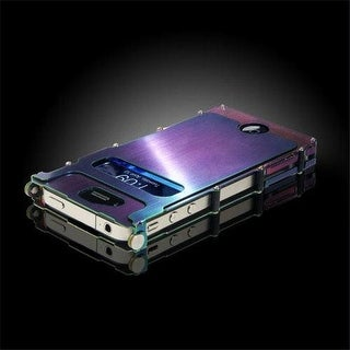 CRKT INOX4R iNox SS Case for iPhone 4 and 4S - Rainbow
