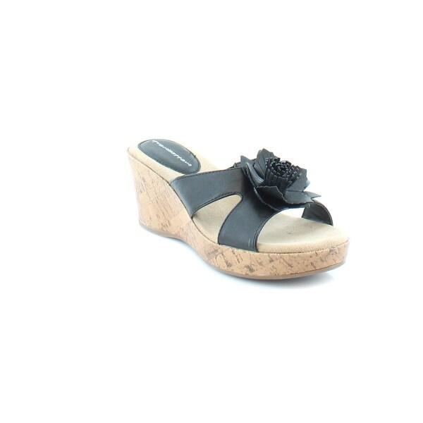 Trendsetter Raeanne Women's Sandals & Flip Flops Black