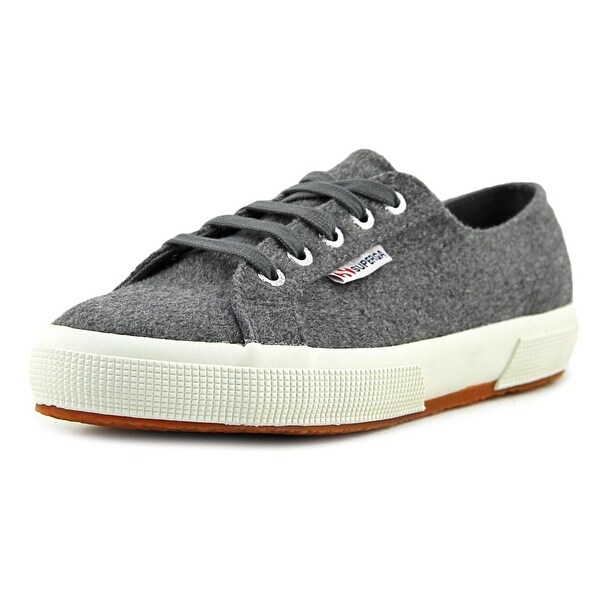 Superga 2750 PolywoolW Men Round Toe Synthetic Gray Sneakers