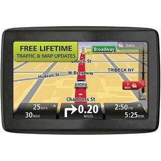 Refurbished TomTom VIA 1405TM Replaced by GO 2405TM Automotive GPS w/ Lifetime Traffic & Map Updates