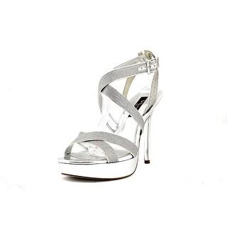 Nina Josette Open Toe Synthetic Platform Heel