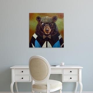 Easy Art Prints Lucia Heffernan's 'Papa Bear' Premium Canvas Art