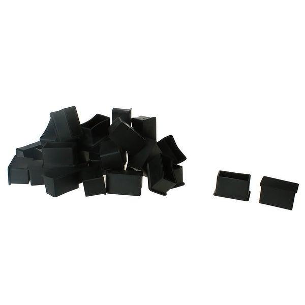 PVC Leg Caps Feet Covers 20 x 40mm Inner Size 32pcs Prevent Scratch for Hardwood