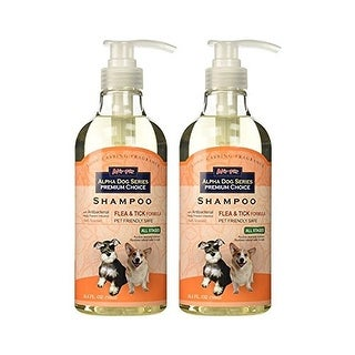 Alpha Dog Series - Flea and Tick Shampoo (Pack of 2)