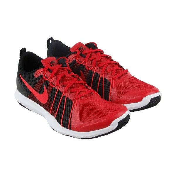 fa3311149f5e ... coupon nike flex train aver mens red black mesh athletic lace up  training shoes 9bce8 7397b
