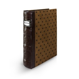 Bellagio-Italia Tuscany DVD Binder-Chestnut