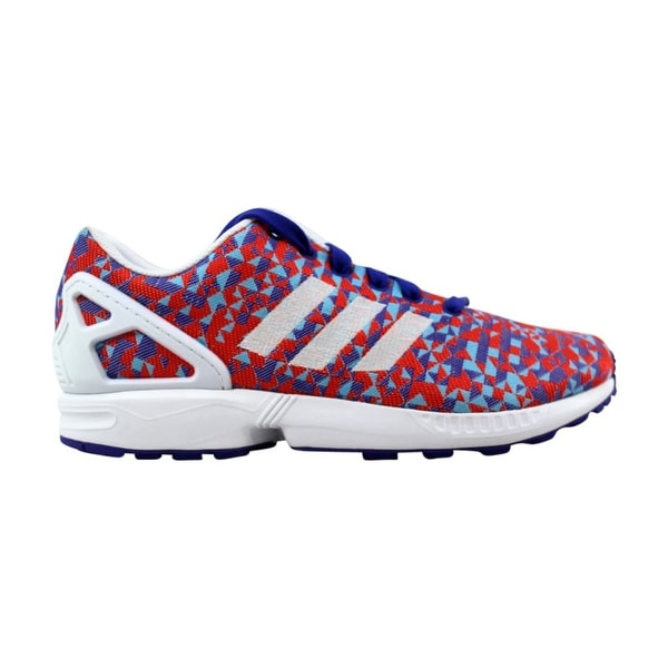 finest selection e7c21 588ab Adidas ZX Flux Weave Night Flash White-Black B34473 ...