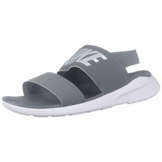 9b15c4a5cf6d Shop Nike Womens Tanjun Sandal Cool Grey Pure Platinum White 882694-002 (5  B(M) Us) - Free Shipping Today - Overstock - 27173148