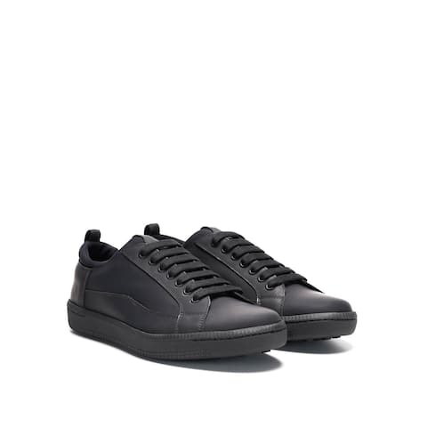 CAR SHOE Men's low-top Leather Slip-on Sneakers Shoes