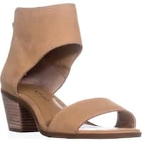 Lucky Barbina Low-Heel Ankle Strap Sandals, Glazed Cotia - 7 w us