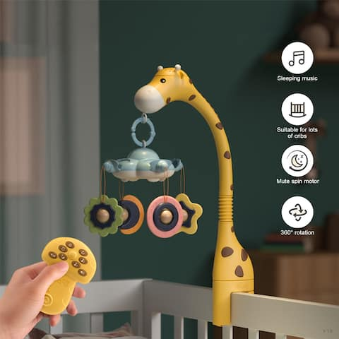 Baby Musical Crib Mobile Infant Toy - S